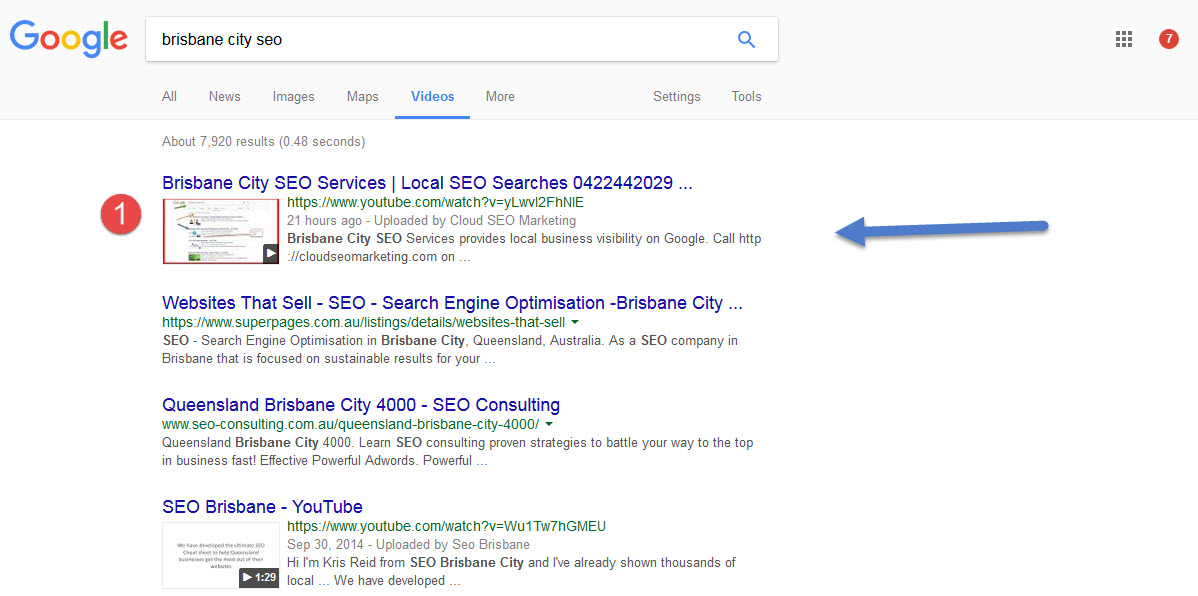 Brisbane City SEO Services For Local Search in QLD