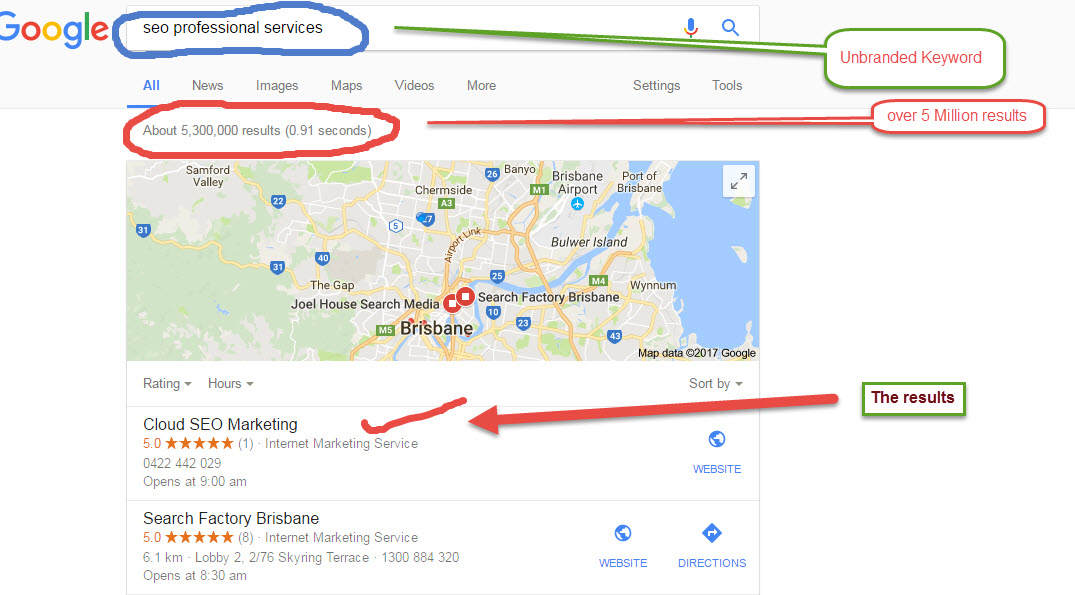 SEO Agency Quensland Offers local SEO Services in Brisbane