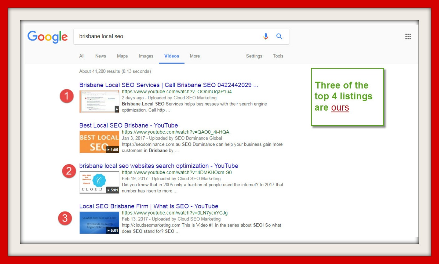 local seo brisbane