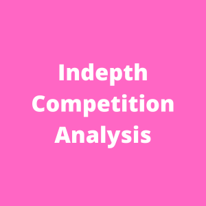 Keyword Tool for in-depth analysis on competitive keywords