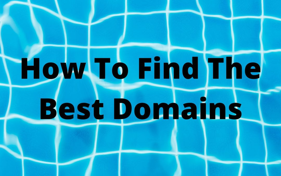 How To Find A Domain