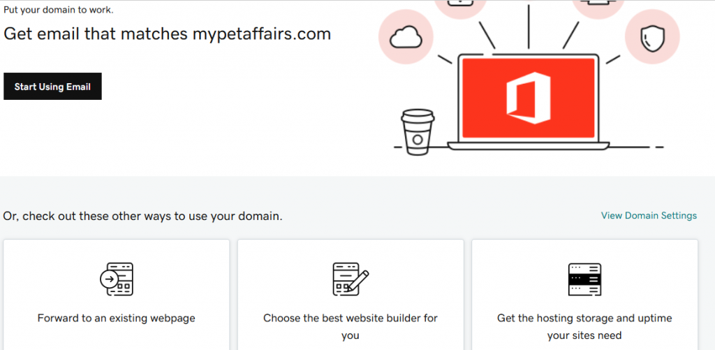 How To Set Up Your Domain For Your Website