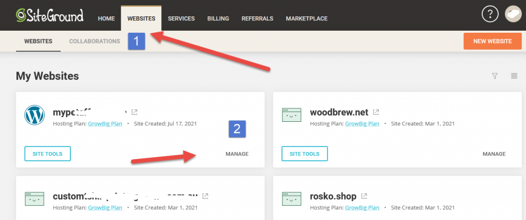 How To Transfer A Domain From GoDaddy To SiteGround Servers